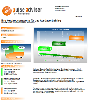 Pulseadviser Screenshot